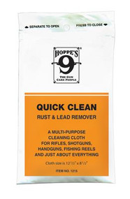 Hoppe's Rust and Lead Remover Cloth - 026285510607
