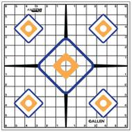 Allen EZ Aim Sight Grid Target 12x12 Inch Twelve Per Package - 026509152033