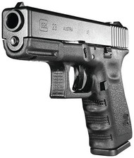 Glock 23 Gen 3 .40 Smith & Wesson 4 Inch Barrel Black Finish Fixed Sights 13 Round - 764503502231