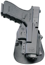 Fobus Paddle Holsters For Kel-Tec P11 9mm/.40/SKYY CPX-1/Ruger LC9/LC380 Black Right Hand - 676315002642