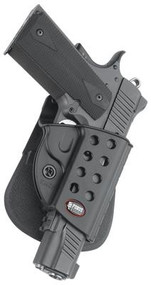 Fobus Evolution 2 Series Paddle Holster for Kimber TLE/RL and Springfield 1911 Style Black Right Hand - 676315007012
