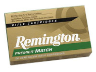 Remington Premier Match 6.8mm Remington Special 115 Grain MatchKing Boattail Hollow Point - 047700382302