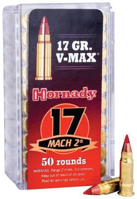 Hornady Varmint Express .17 Hornady Mach 2 17 Grain V-Max - 090255831771