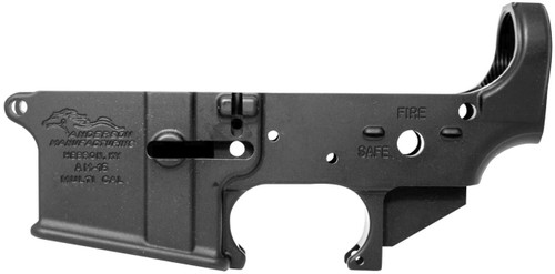 Anderson Mfg AR-15 Mil-Spec Lower Receiver - Black - 712038921676