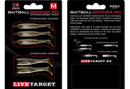 LiveTarget Baitball Spinner Rig Interchange Packs - 697713901344