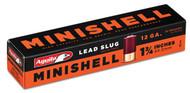 """Aguila Minishells - 12 Gauge - 1.75"""" - 7/8 oz Slug - 20 Rounds - 640420002514"""