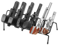LockDown Past 6 Gun Handgun Rack Black - 661120222101