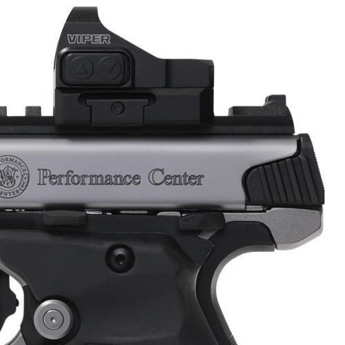Smith & Wesson Victory Peformance Center 22 LR - Carbon Fiber Barrel - Vortex Viper Red Dot - Tandemkross Grips - 10 Round - 022188875553