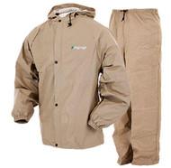 Frogg Toggs Pro Lite Rain Suit - Khaki - 647484055012