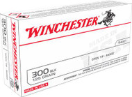 Winchester USA 300 BLK - 125 Grain FMJ - 20 Rounds - 020892224568