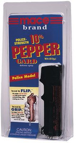 Mace Peppergard Police Model 10 Percent Pepper 18 Grams - 022188801705