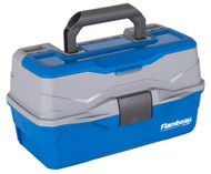 Flambeau Classic 2-Tray Tackle Box W/ Lid Storage - 071617079024