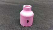 Stubby Gas Lens Nozzle, 10mm, 17/18/26, #6