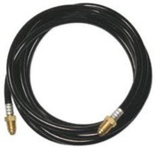 Gas Hose Assembly, 25FT, TM18, Right Hand Nut