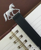 Dressage Bookmark in Leather