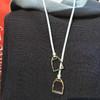 LILO® English Stirrup Necklace