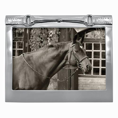 Mariposa Horse Bit Frame 5 x 7