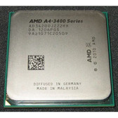 AMD A4-3420 2.80GHz Socket FM1 Desktop OEM CPU AD3420OJZ22HX