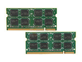4GB(2x2GB) DDR2 667MHz PC2-5300 256X64 200Pin SODIMM Memory kit for iMac 2007