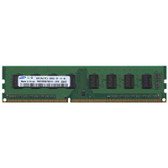Samsung 2GB DDR3 1066MHz PC3-8500 240-Pin non-ECC Unbuffered DIMM Dual Rank Desktop Memory M378B5673EH1-CF8