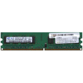 Samsung 2GB DDR2 667MHz PC2-5300 240-Pin non-ECC Unbuffered DIMM Dual Rank Desktop Memory M378T5663QZ3-CE6