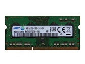 Samsung 4GB DDR3 1600MHz PC3-12800 204-Pin non-ECC Unbuffered SoDIMM Dual Rank Notebook Memory M471B5173EB0-YK0