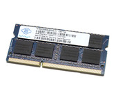 Nanya 8GB DDR3 1600MHz PC3-12800 non-ECC Unbuffered CL11 240-Pin SoDIMM Dual Rank Notebook Memory NT8GC64B8HB0NS-DI