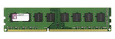 Kingston 4GB DDR3 1333MHz PC3-10600 240-Pin DIMM non-ECC Unbuffered Dual Rank Desktop Memory KVR1333D3N9/8G