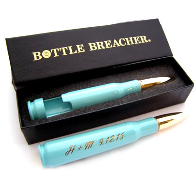 Bottle Breacher Bridesmaid's Gifts Turquoise Bottle Opener