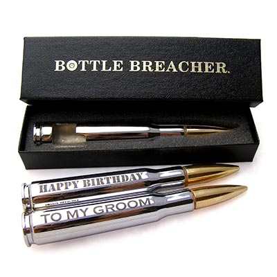 Bottle Breacher Groosmen Gift Chrome Bottle Opener