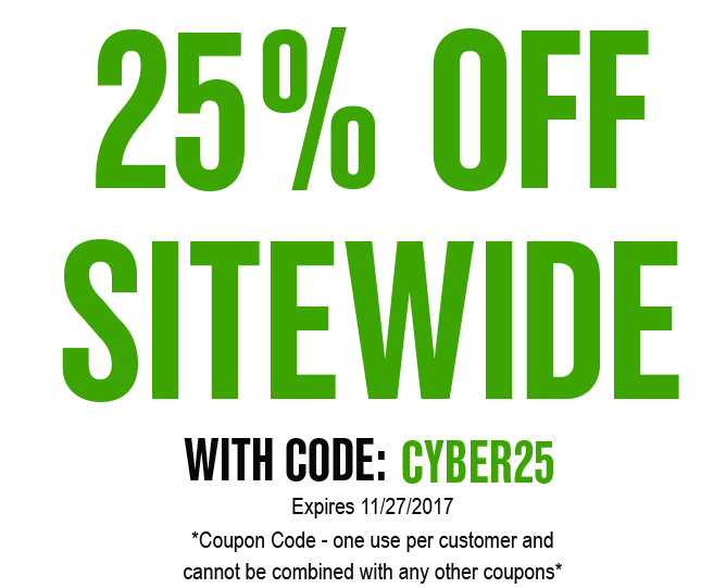 40% OFF SITEWIDE CYBERMONDAY 2017