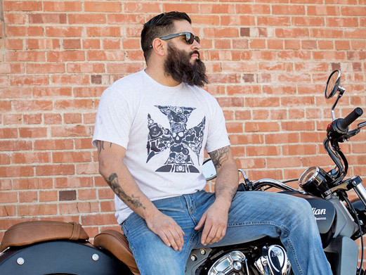 "Biker ""So there I was"" T-Shirt"