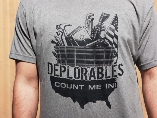 Deplorables Bottle Breacher T-Shirt