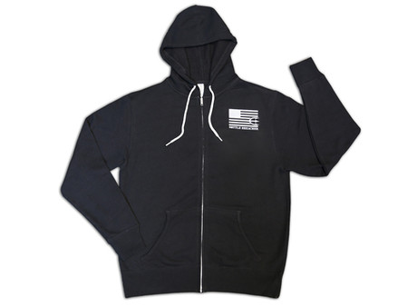 Bottle Breacher Trident Flag Men and Women Hoodie