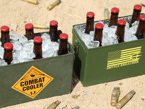 Vintage and Original Combat Cooler