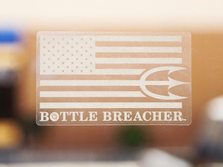 Bottle Breacher Window Decal