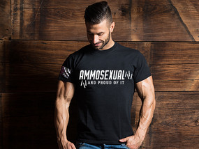 Ammosexual and Proud Of It Mens T-Shirt