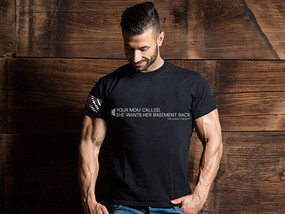 Your Mom Called - She Wants Her Basement Back Mens T-Shirt