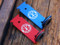Red and Blue 50 Caliber Holsters
