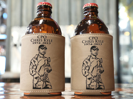 Chris Kyle Never Forgotten Coozie