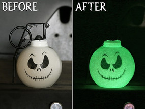 Yes, they glow in the DARK!