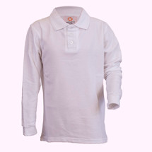 AJA slim cut Long Sleeve Polos - Adult