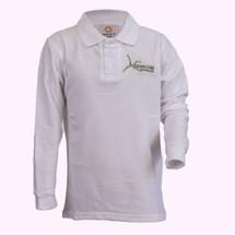 Aspen Hill White Long Sleeve Polo