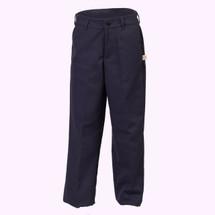 Girls Navy Pants - Slim