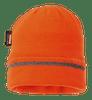 Knitted Hat Reflective Trim, Orange