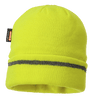 Knitted Hat Reflective Trim, Yellow