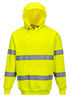 Hi-Vis Hooded Sweatshirt, Yellow