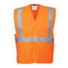 Hi-Vis 1 Band Vest, Orange