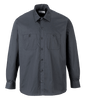 Industrial Work Shirt, Long Sleeve, Black