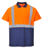 Hi-Vis 2-Tone Polo Shirt